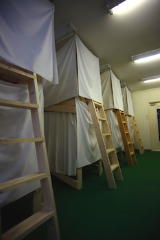 共同ドミトリー 男女共用ドミトリー 共用バスルーム ユメビトハウス