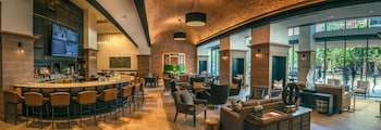 Lobby Lounge at Canopy by Hilton Dallas Uptown in Dallas