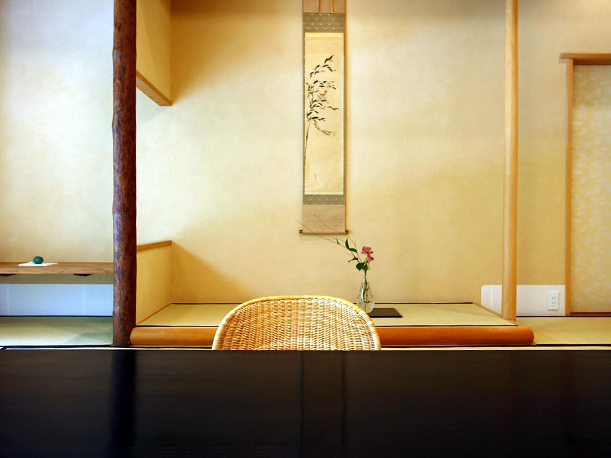 Junior Suite Room, Traditional Tatami-style, Pond View, Room name