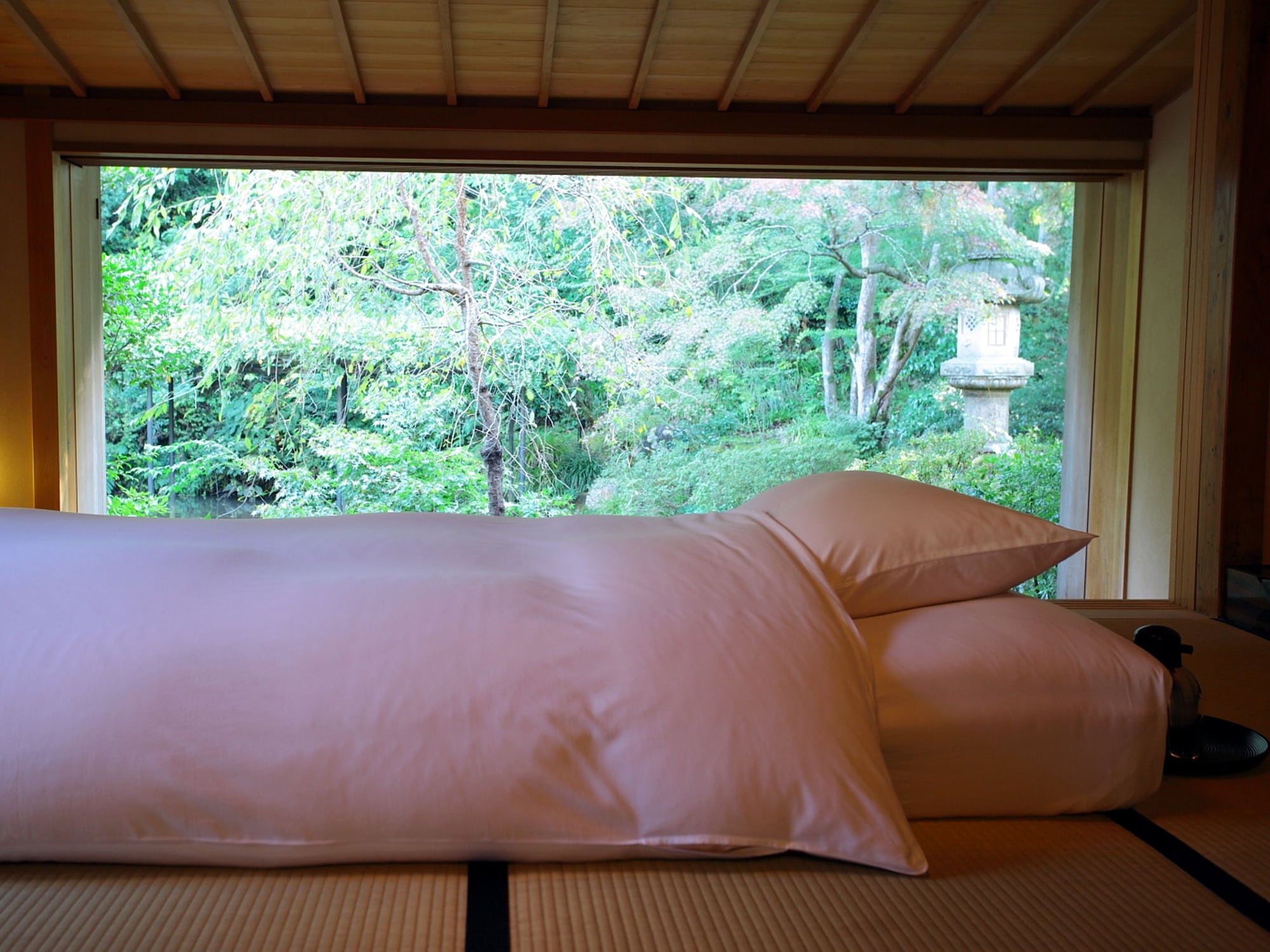 Superior Tatami Room, Garden View, Room name