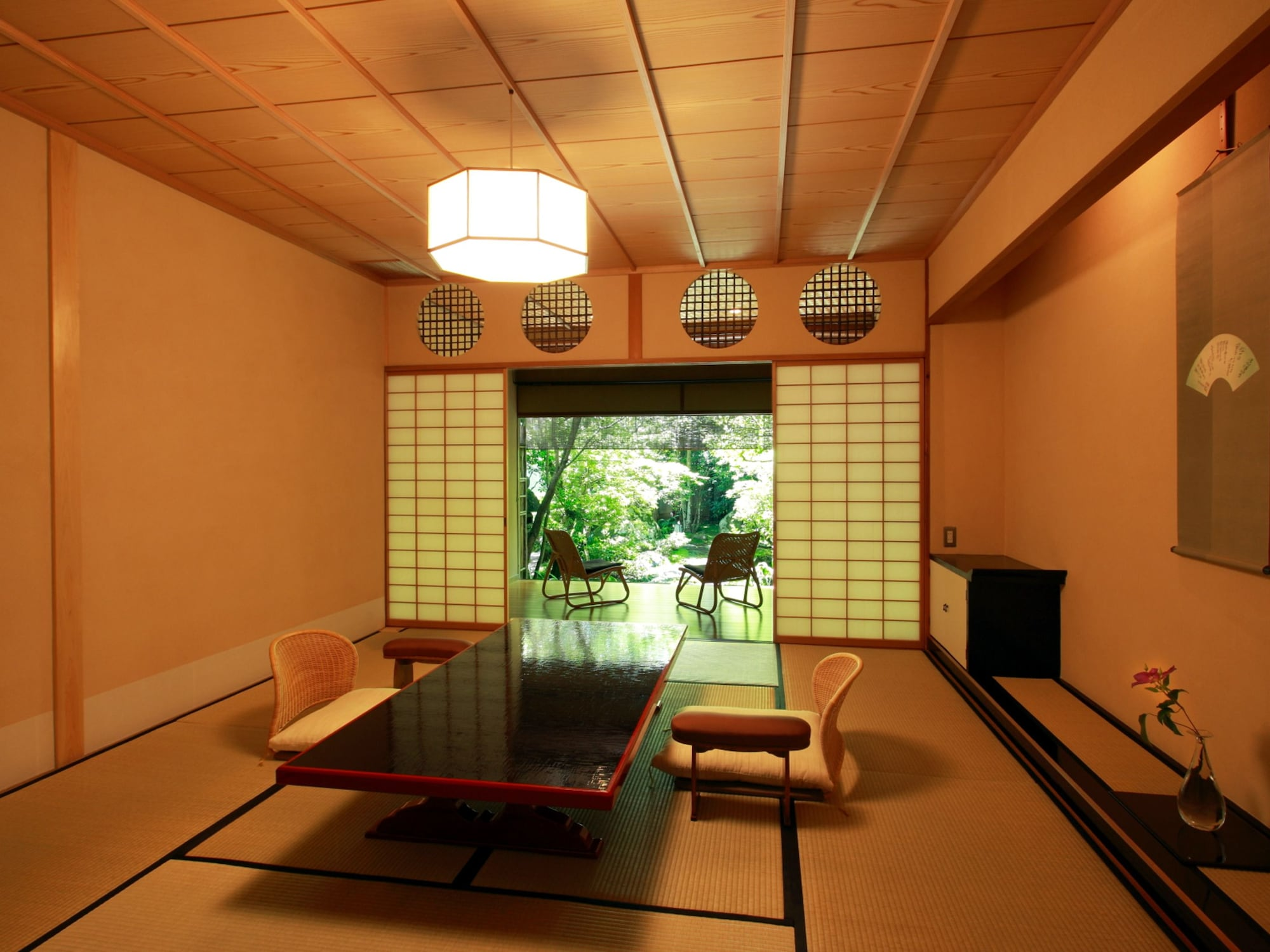Standard Tatami Room, Garden View, Room name