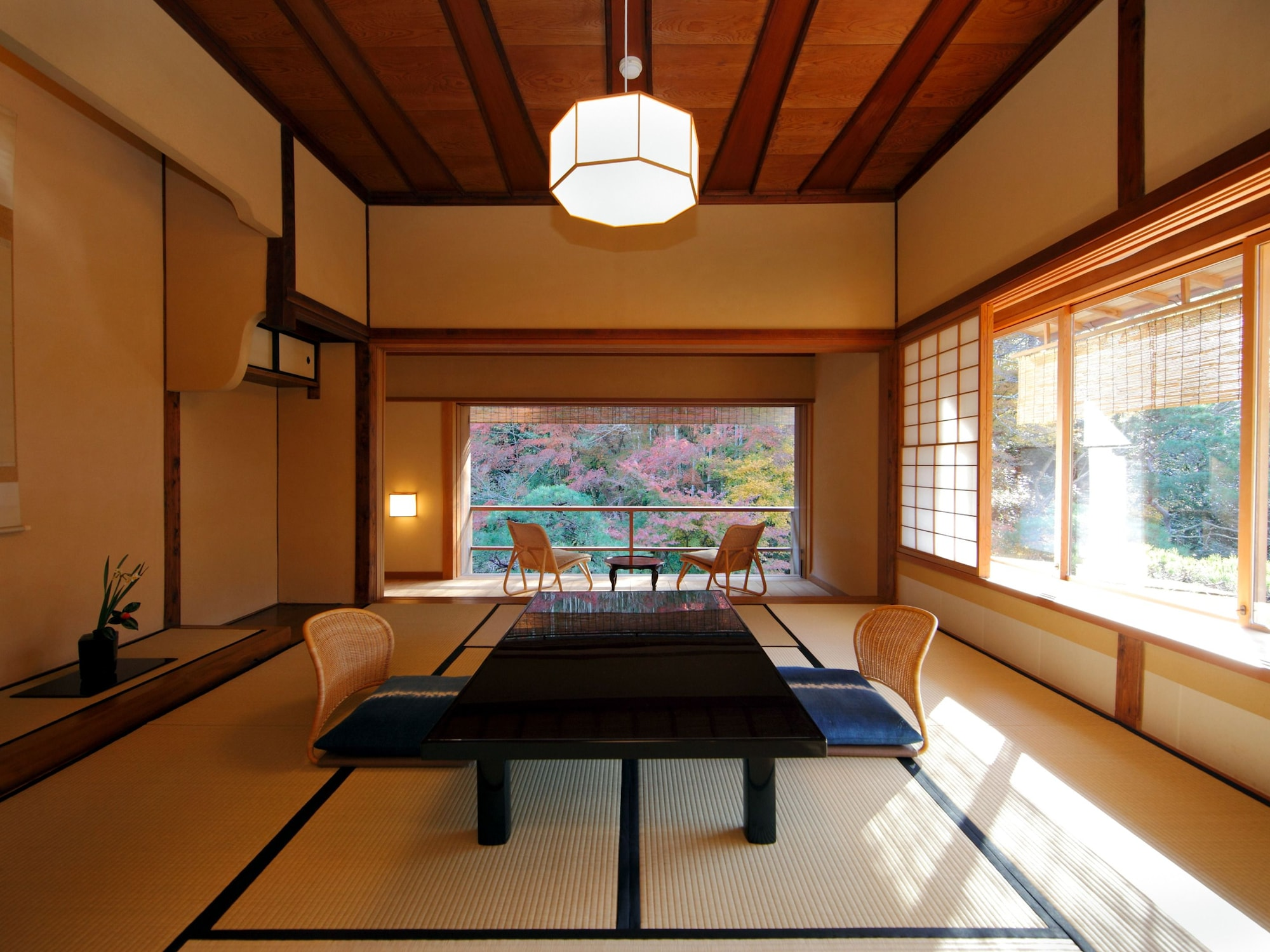 Suite, Traditional Japanese Tamami and Western-style, Garden View, Room name