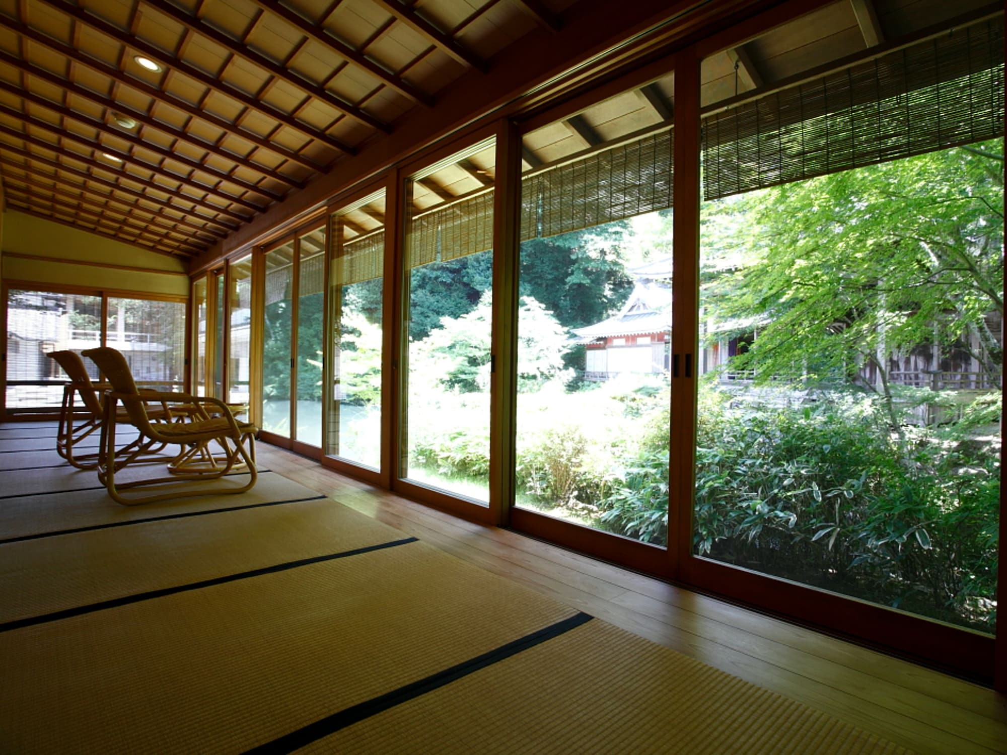 Suite Room with Tatami, Pond View, Room name