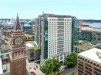 西雅圖市中心先鋒廣場希爾頓大使套房飯店 Embassy Suites by Hilton Seattle Downtown Pioneer Square