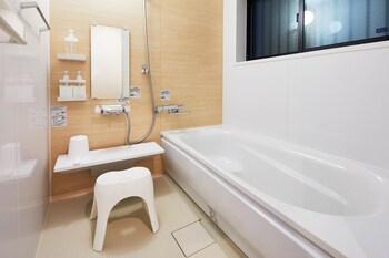 HANARE KYOTO KYONOYADO KAMOGAWA-AN Deep Soaking Bathtub