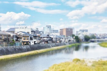 HANARE KYOTO KYONOYADO KAMOGAWA-AN View from Property