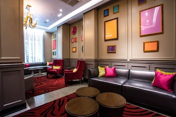 Lobby Lounge at Fairfield Inn & Suites by Marriott Philadelphia Downtown/Center City in Philadelphia
