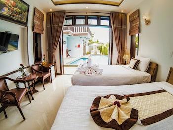 Superior Tek Büyük Veya İki Ayrı Yataklı Oda, Havuz Manzaralı