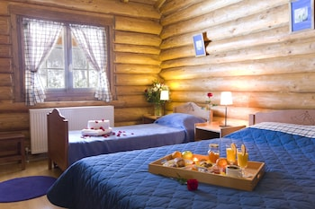 Grand Dağ Evi, 2 Yatak Odası, Şömine, Dağ Manzaralı