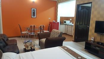 Family Tek Büyük Yataklı Oda, Birden Çok Yatak, Mutfak