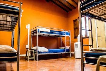 Shared Dormitory, Mixed Dorm, Shared Bathroom (Pazzi - 6 beds)