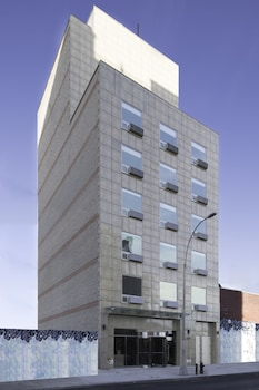 Hotel Front at Mayflower Boutique Hotel in Long Island City