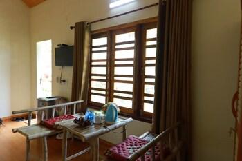 Deluxe Tek Büyük Yataklı Oda, Bahçe Manzaralı