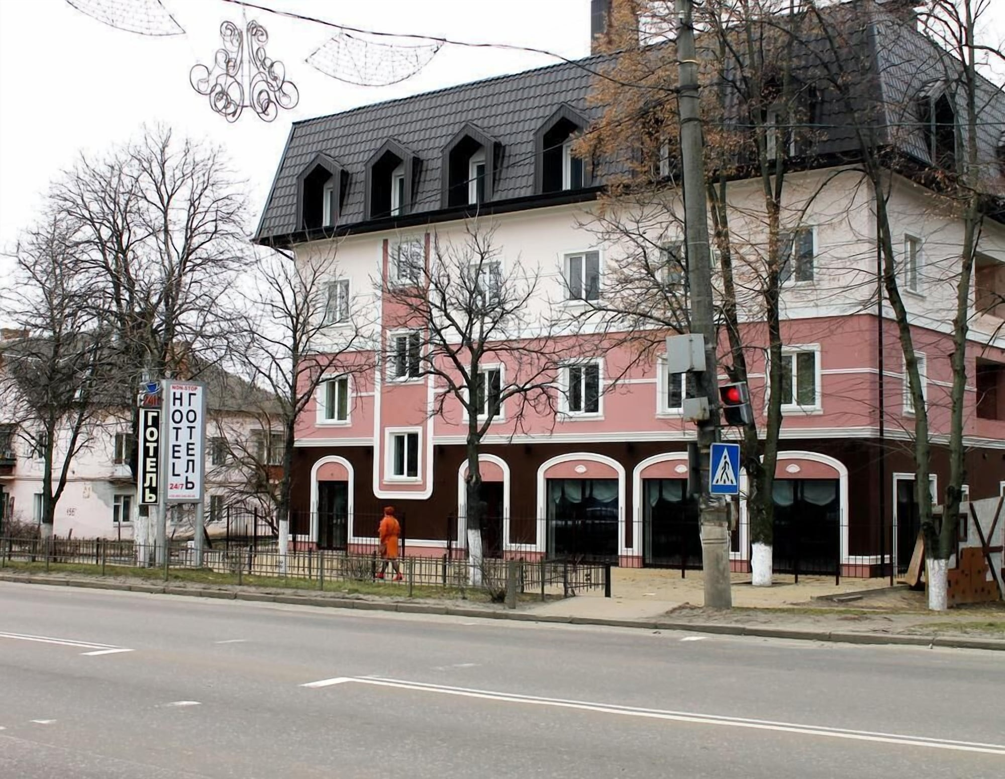 Non-stop hotel, Boryspil's'ka