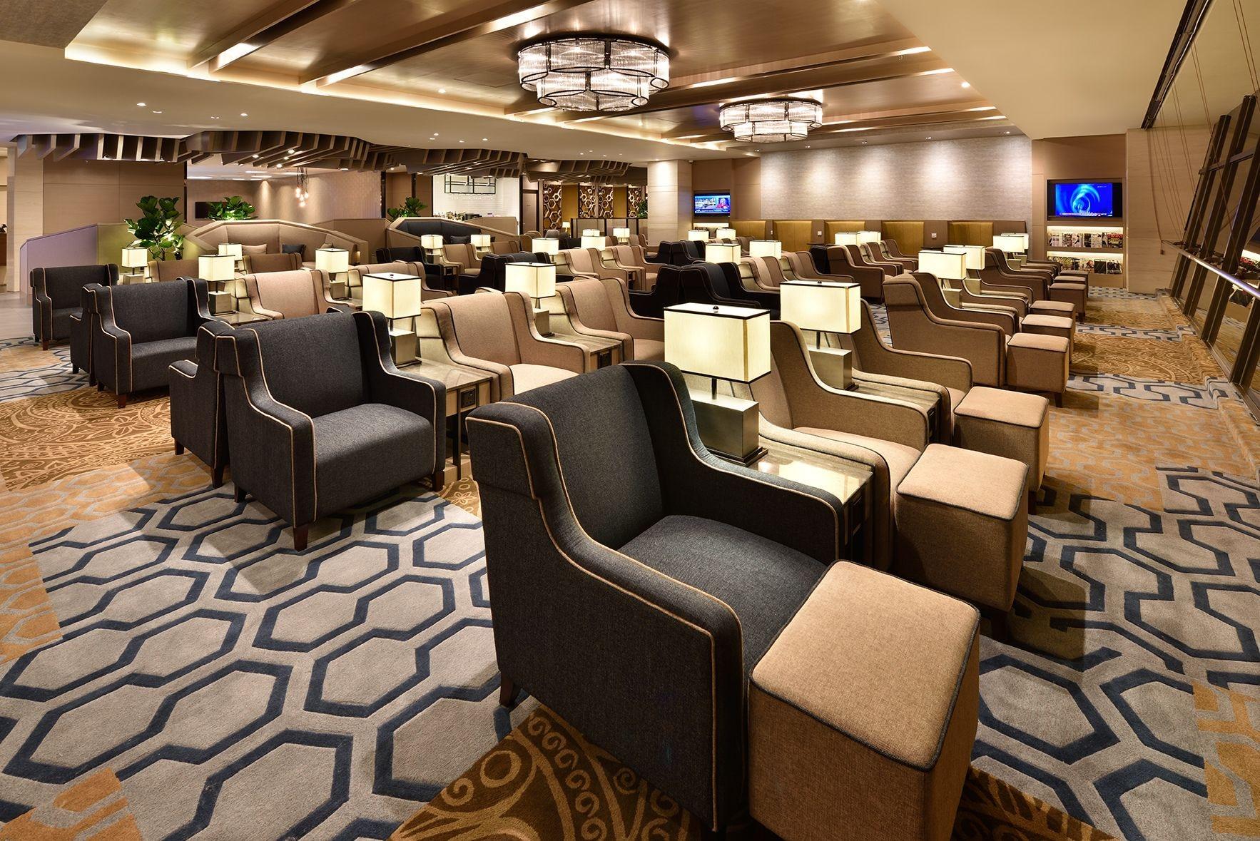 Plaza Premium Lounge  - Singapore T1, Changi
