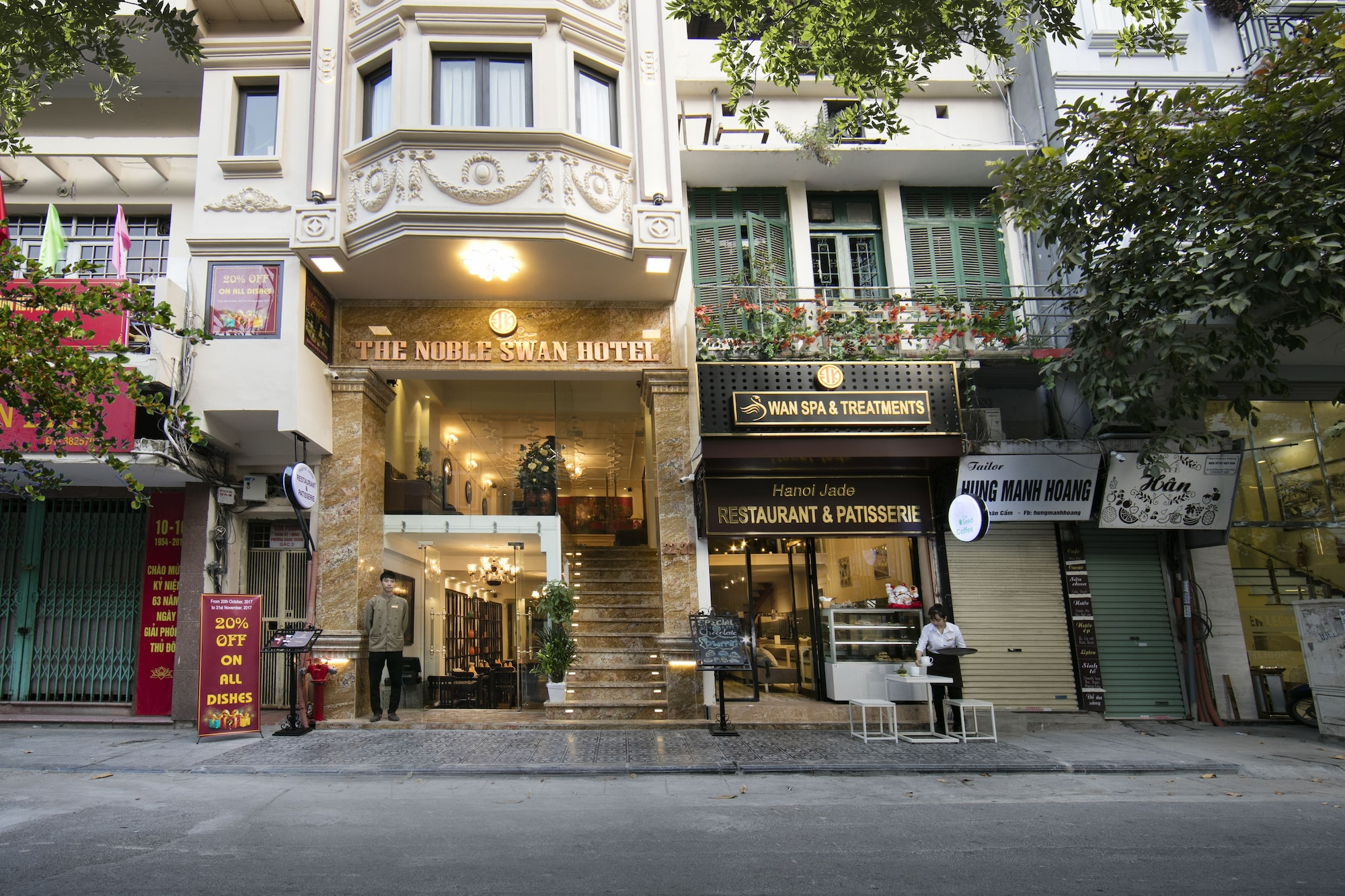 The Noble Swan Hotel & Spa, Hoàn Kiếm