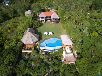 PURE SHORES VILLA Aerial View