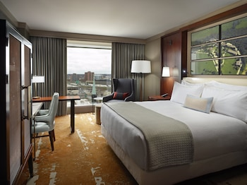 Premier Room, 1 King Bed, Accessible (Roll-in-Shower)