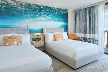 Room, 2 Double Beds, Ocean View