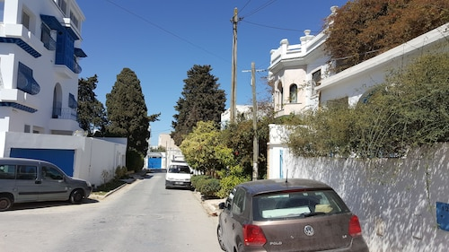 Maison coquette Sidi Bou Said, Carthage