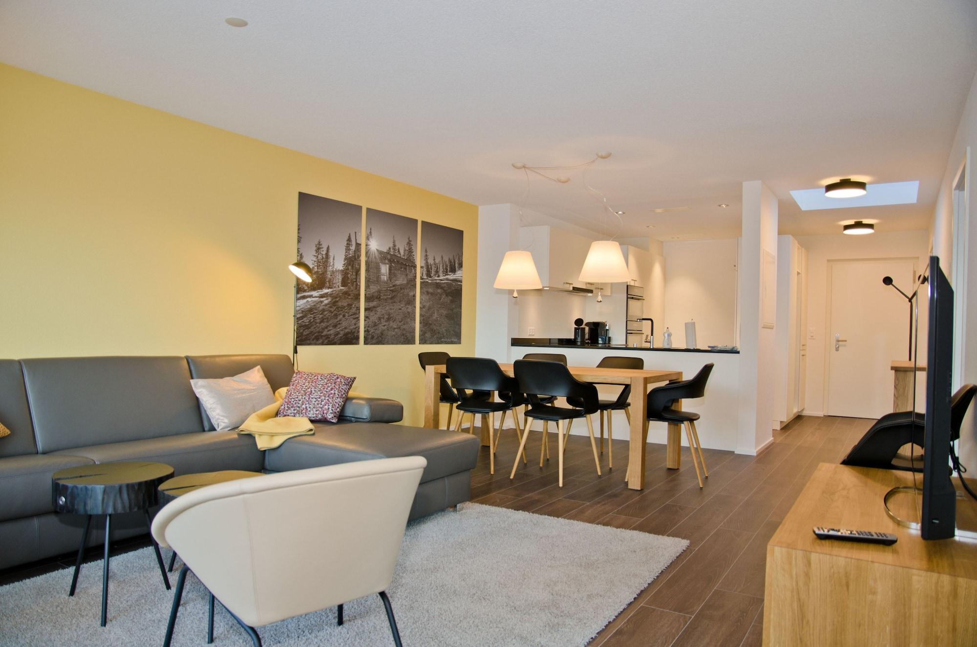 Apartment Rugenpark 10 by GriwaRent, Interlaken