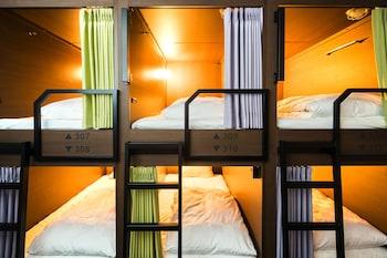 男女共用ドミトリー(6名部屋)|グリッズ京都 四条河原町 ホテル&ホステル