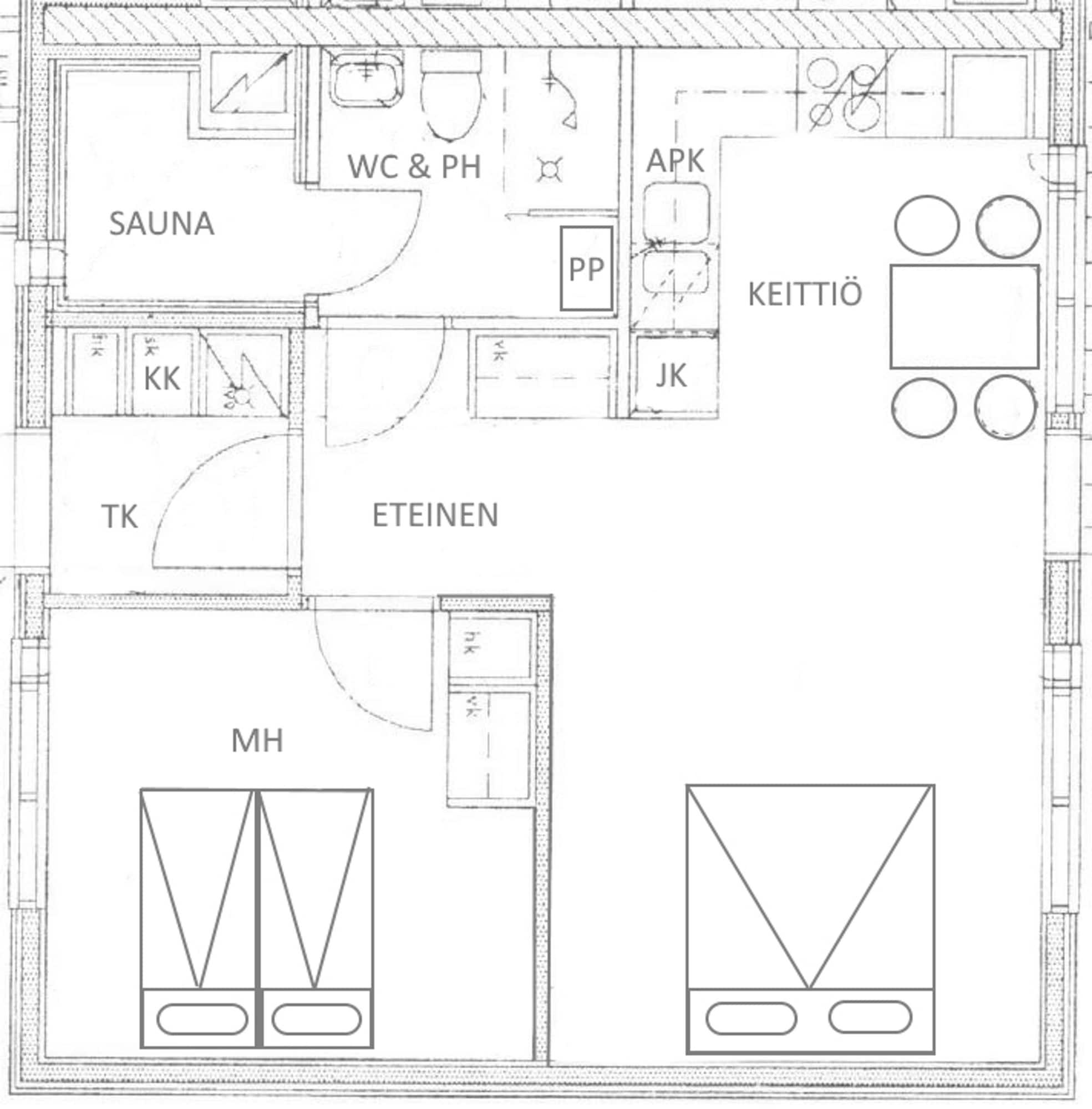 Apartments Huili, North Savonia