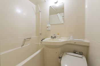 HOTEL S-PLUS HIROSHIMA PEACE PARK Bathroom