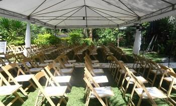 CHATEAU HESTIA Outdoor Wedding Area