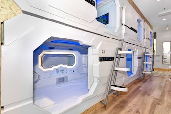 Featured Image at Space Q Capsule Hotel in Haymarket