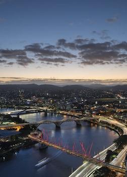 View from Hotel at W Brisbane in Brisbane