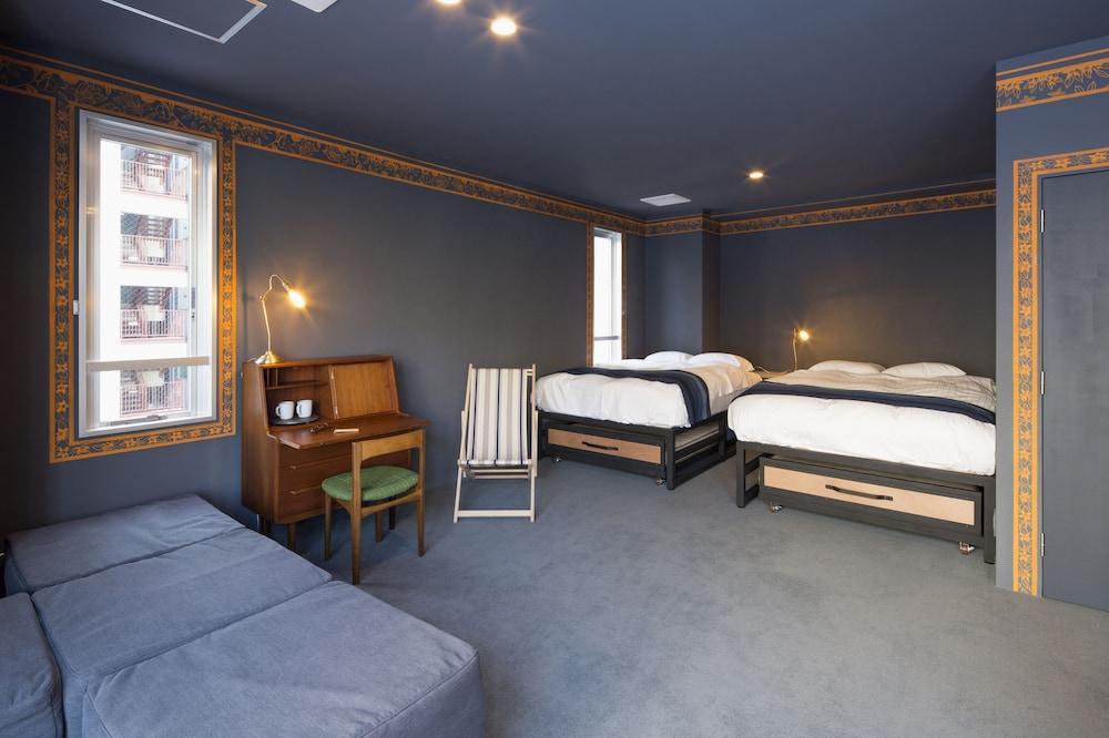 도쿄 게스트하우스 턴 테이블 호스텔 객실