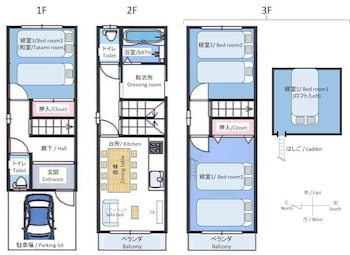 PENGUIN-MURA Floor plan