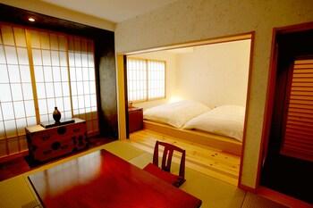和洋室 スーペリアルーム 共用バスルーム|ますとみ旅館