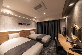 スタンダードツインルーム シングルユース ホテル・トリフィート小樽運河