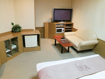 RESTAY HIROSHIMA - ADULT ONLY Living Area