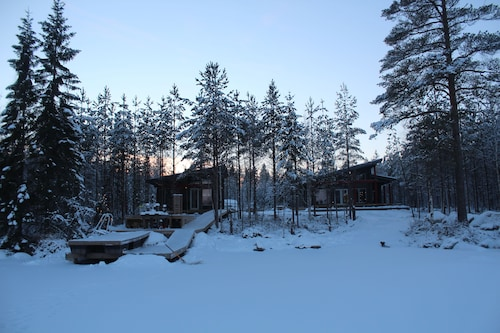 Winter Bay Cottage, Central Finland