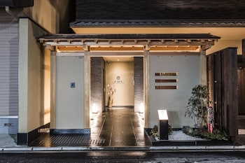 NAGI KYOTO SHIJO Front of Property - Evening/Night