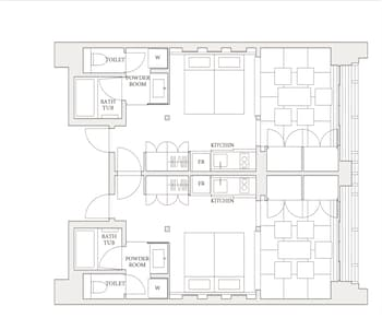 MIMARU KYOTO HORIKAWAROKKAKU Floor plan