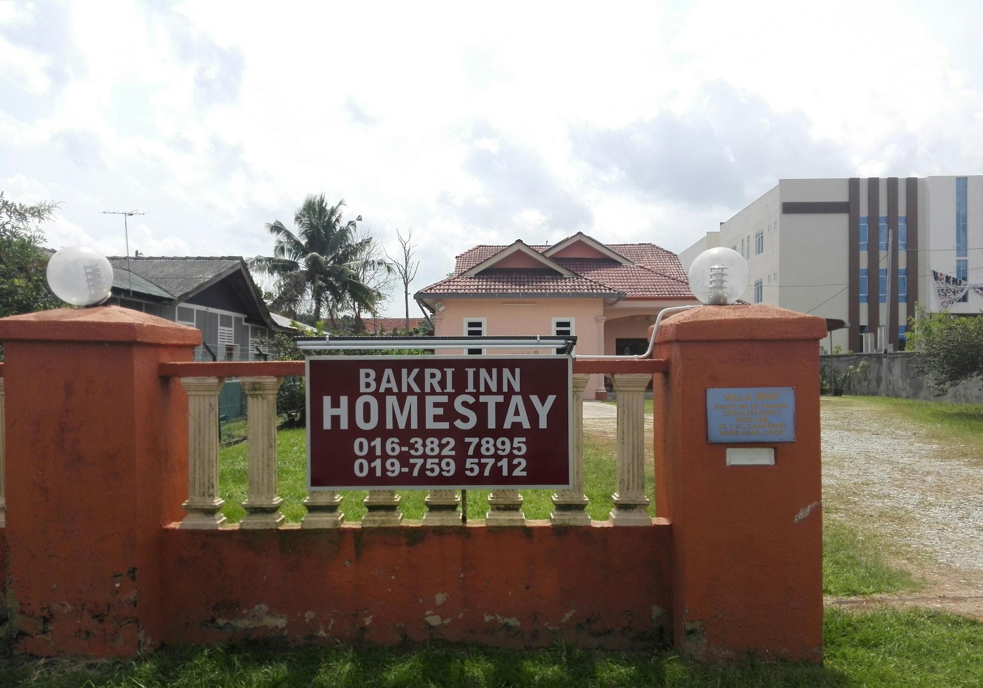 Bakri Inn Homestay, Muar