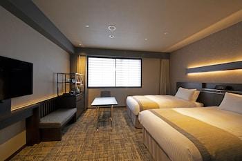 [室数限定] モデレートツインルーム 禁煙|ホテル京阪京都八条口