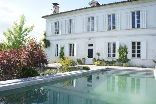 La Blanche Girondine, Gironde