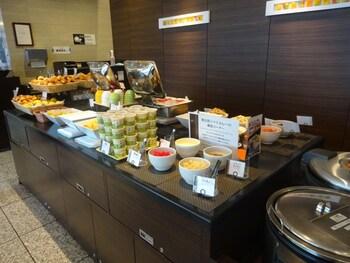 VIA INN OKAYAMA Breakfast buffet