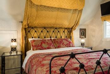 Luxury Double Room, 1 Queen Bed, Jetted Tub, Garden View (Vienna Balconies)