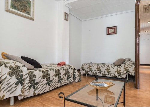 Apartment With 3 Bedrooms in València, With Wonderful sea View, Furnis, Valencia