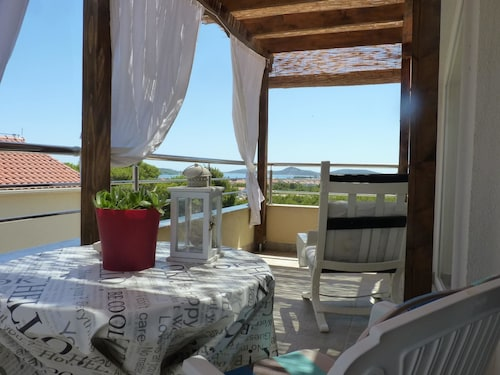 Apartment With one Bedroom in Vodice, With Wonderful sea View, Furnish, Vodice