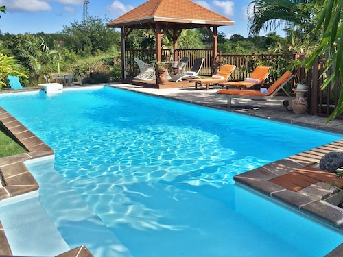 Villa With 3 Bedrooms in Saint François, With Private Pool, Enclosed G, Saint-François