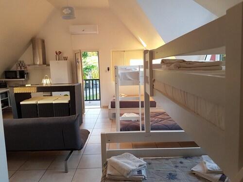 Villa With 7 Bedrooms in Saint-benoît, With Wonderful sea View, Privat, Saint-Benoît