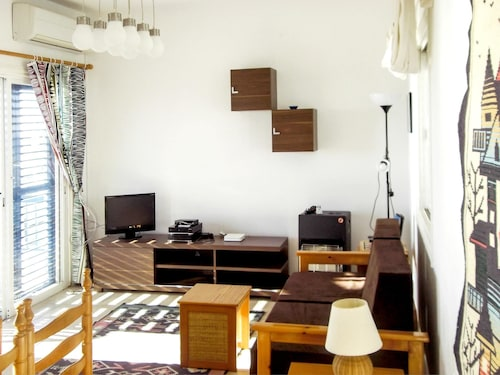 Apartment With one Bedroom in Paphos, With Wonderful sea View, Pool Ac,
