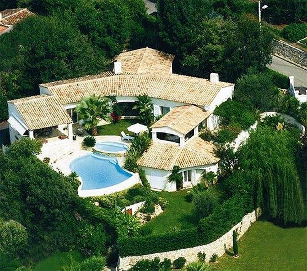 Villa With 4 Rooms in Saint Paul de Vence, With Wonderful sea View, Private Pool, Enclosed Garden